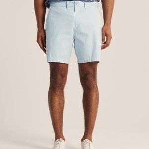 New Abercrombie & Fitch Stretch Chinos Shorts 29